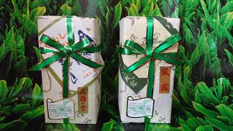静香園の深蒸し茶200g缶