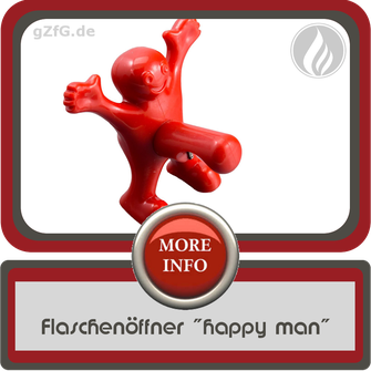 Flaschenöffner happy man