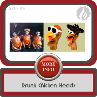 Drunk Chicken Heads