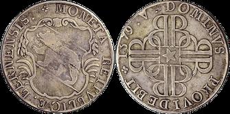 Moneda antigua de Berna