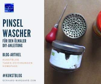 Pinselwascher für den Ölmaler, DIY-Anleitung