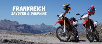 Frankreich Savoyen Dauphine (Motorrad Reise )