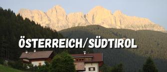 Österreich - Südtirol mit dem Motorrad