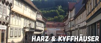 Motorrad Tour Harz Kyffhäuser