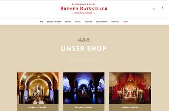 Konzeption Website für den Bremer Ratskeller