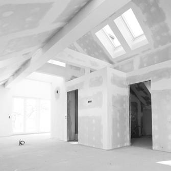 Trockenbau - Dachbodenausbau - GERZEN wand-design