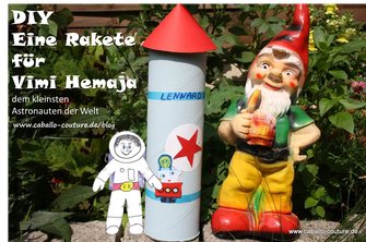 Caballo Couture; Astronaut Köln; Astronaut; Basteln; Bastelanleitung Rakete; Kinder; Kreative Ideen für Kinder; Bastelideen; Rakete Basteln; Upcycling; Pringelsdose; Bastelidee