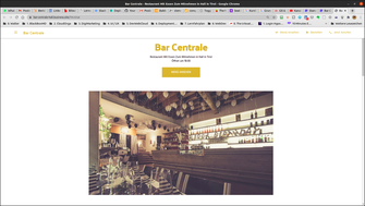 Bar Centrale zu Hall in Tirol - Google Business site