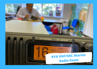 RYA VHF SRC Marine Radio Exam, Poole