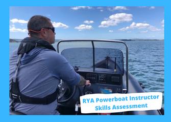rya powerboat instructor skills assessment
