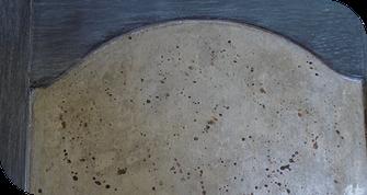 Patine métallisée sur meuble - Grenoble