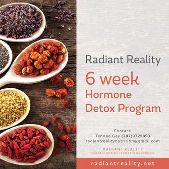 Radiant Reality | Offerings - 6 Week Hormone Detox Program