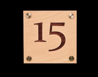 Türschild Buche, holz accessoires, holz gravieren, tischnummern, tischkarten hochzeit tischkarten ,15,  hotelbedarf, holz mit gravur, lasergravur