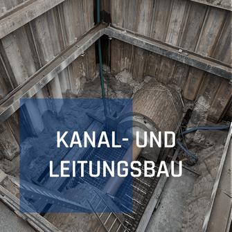 Kanal- und Leitungsbau von Richard Schulz Tiefbau