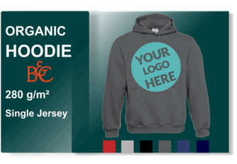 Organic Hoodies bedrucken