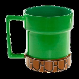 Taza tubería de Mario Bros