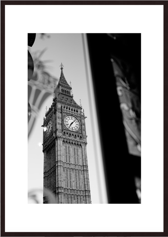 Leica Fine Art Print, Motiv: Big Ben in London. Diese Fotokunst ist zu kaufen, limitiert, exklusiv und in Galerie- Qualität