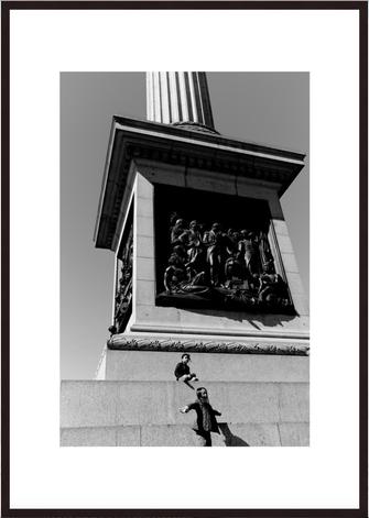 Leica Fine Art Print, Motiv: Trafalgar Square, London. Diese Fotokunst ist zu kaufen, limitiert, exklusiv und in Galerie- Qualität