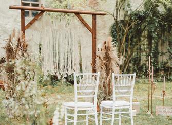 Chiavari Stühle Vermietung Dekoration