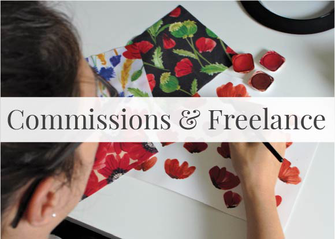 Surface Pattern Design Services - Freelance Textile Designer