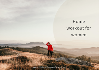 Home workout for women