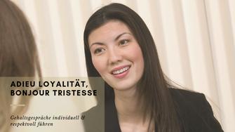 Gehaltsgespräche individuell & respektvoll führen. von Martina M. Schuster