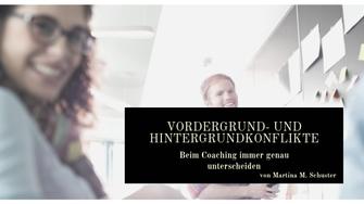 Vordergrund- und Hintergrundkonflikte, ConAquila, Coaching Akademie, Life Coaching Ausbildungen, Business Coaching Ausbildungen, AuditiveCoaching© Ausbildungen