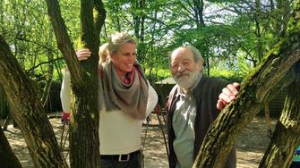 Kitaleitung Cordelia Schnell & Autor/Ideengeber Heinrich Benjes (Bild per Klick vergrößern)