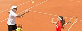 Tennisschule - Einzeltraining