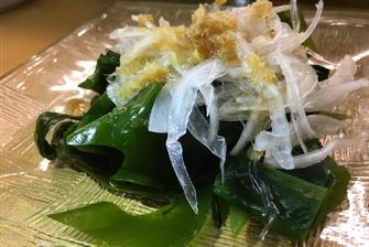 三陸わかめの復興サラダ