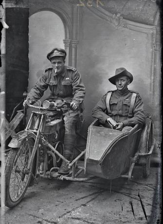 soldats australien pignon ferme