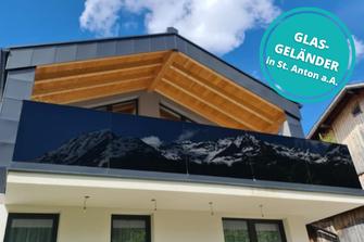 Glasgeländer St. Anton am Arlberg