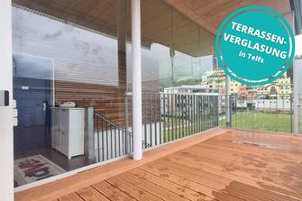 Terrassenverglasung Telfs