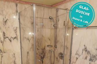 Glasdusche Duschverglasung Dusche Stanz bei Landeck