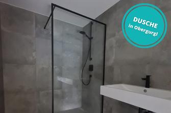 Dusche Duschverglasung Obergurgl Ötztal