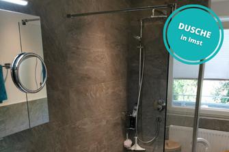 Dusche Duschverglasung Glasdusche in Imst