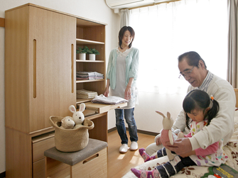 関市 高齢者施設:収納 下足箱など