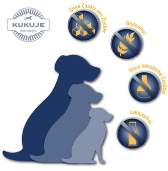 KUKUJE-Churpis: Für alle ausgewachsenen Hunde jeder Rasse geeignet.