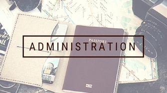 fiche administration papier préparatifs voyage