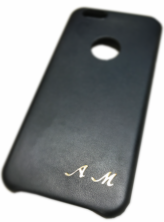 Personalized leather cell phone cases - Conti Borbone - Customization of leather cell phone covers