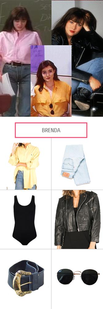 Beverly Hills 90210, Brendas Style