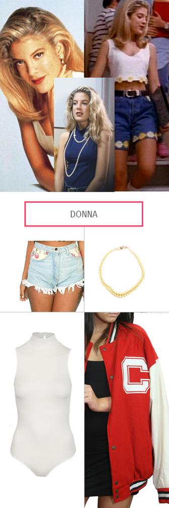 Beverly Hills 90210, Donnas Style
