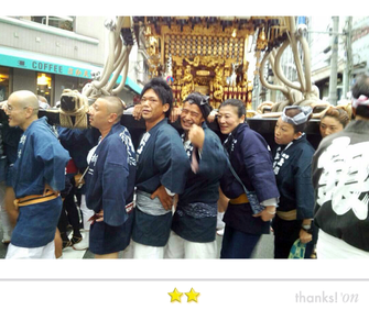 鳥越祭り, 柳二町会, 町内神輿渡御