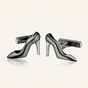 Koenig Heels on Cufflinks - 100% swiss handmade