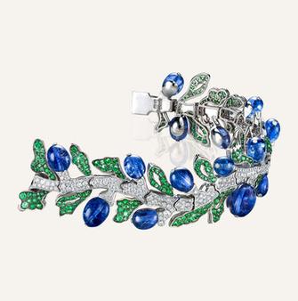 "High Jewelry Bracelet ""Jardin Exotique"" - 100% swiss handmade"