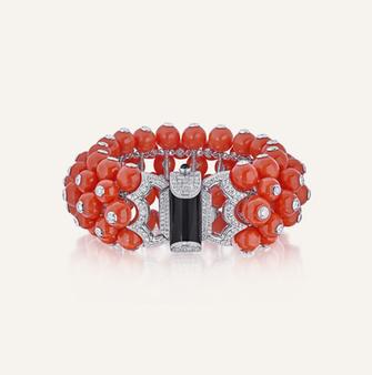 "High Jewelry Bracelet ""Kazumi"".  100% Swiss handmade"