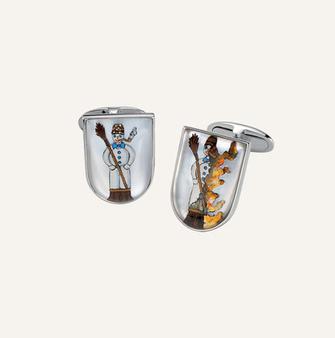 Koenig Spring Time Cufflinks - 100% swiss handmade