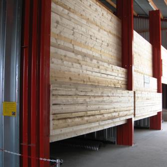 Trapez Stahlsilowände von RAKO Sulingen