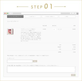 購入方法ステップ1