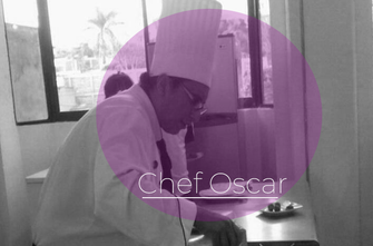 Chef Oscar Cruz Marchan